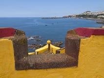 Fortezza a Funchal Fotografia Stock Libera da Diritti