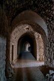 Fortezza Giordania del castello del crociato del kerak di Al Karak Immagine Stock Libera da Diritti