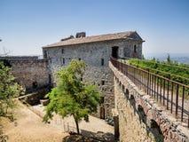 Fortezza Girifalco in Cortona, Tuscany Stock Photography