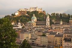 Fortezza Hohensalzburg (Salisburgo, Austria) Fotografia Stock