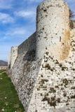 Fortezza interna, Chevaliers del DES di Krak Fotografie Stock Libere da Diritti