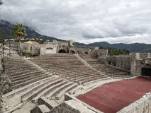 Fortezza Kanli Kula dell'anfiteatro Fotografie Stock