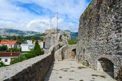 Fortezza Kanli Kula (torre sanguinosa), Castelnuovo, Montenegro Fotografia Stock Libera da Diritti