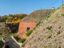 Fortezza Klodzko in Slesia più bassa, Polonia fotografia stock