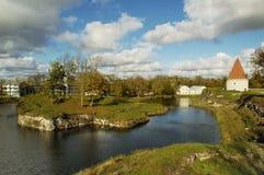 Fortezza in Kuressaare Fotografie Stock Libere da Diritti