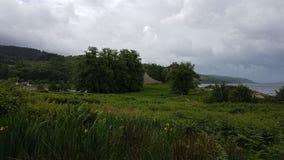 Fortezza lachlan del castello Fotografia Stock