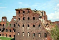 Fortezza leggendaria Oreshek Fotografie Stock