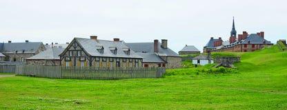 Fortezza Louisbourg Fotografie Stock
