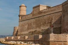 Fortezza a Marsiglia Fotografia Stock