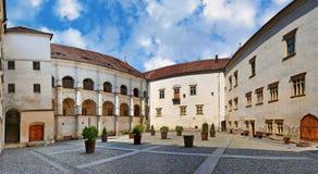 Fortezza medievale di Fagaras fotografie stock