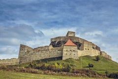 Fortezza medievale di Rupea, Romania Fotografia Stock
