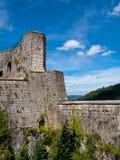 Fortezza medievale francese Fotografie Stock