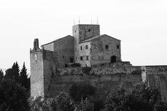 Fortezza medievale Verucchio  Fotografia Stock Libera da Diritti