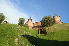 Fortezza medioevale Fotografie Stock