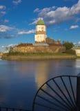 Fortezza nella città di Vyborg in Russia Immagini Stock Libere da Diritti