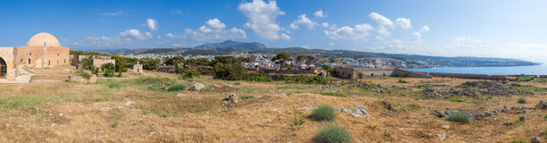 Free Fortezza Of Rethymno Panorama Crete Greece Royalty Free Stock Photography - 68311007