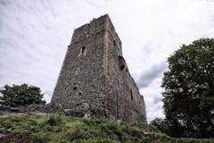 Fortezza Radyne con il resti di alta torre Immagini Stock
