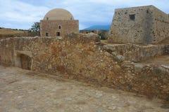 Fortezza Rethymn Obrazy Royalty Free