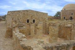 Fortezza Rethymno Zdjęcie Stock