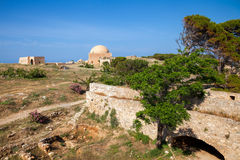 Fortezza of Rethymno Crete Greece Stock Photos