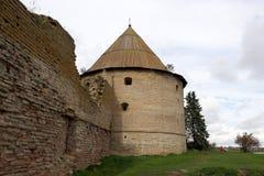 Fortezza Shlisselburg (Oreshek) Fotografia Stock