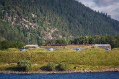 Fortezza Sondre Kaholmen di Oscarborg Immagine Stock