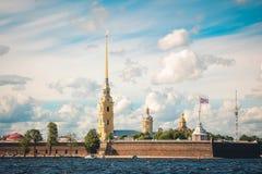 Fortezza St Petersburg di Paul e di Peter Fotografia Stock Libera da Diritti