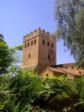 Fortezza storica del Marocco del monumento di Chaouen immagini stock libere da diritti