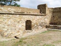 Fortezza in Sudak Fotografia Stock Libera da Diritti