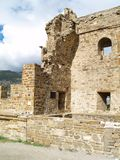 Fortezza in Sudak Fotografie Stock Libere da Diritti