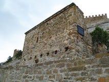 Fortezza in Sudak Fotografia Stock