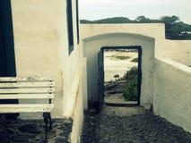 Fortezza sulla spiaggia Fotografia Stock Libera da Diritti