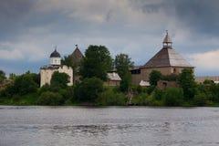 Fortezza vecchia Ladoga Immagini Stock Libere da Diritti