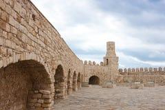 Fortezza veneziana di Koules Immagini Stock