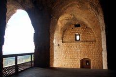 Fortezza Yehiam Immagine Stock