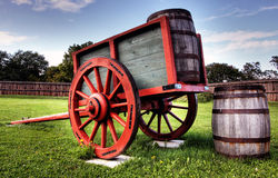 Fortgeorge-nationale historische Site Lizenzfreies Stockbild