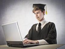 Fortgeschrittene Jobrecherche lizenzfreie stockfotos
