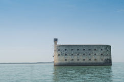 Forth Boyard near the coast of île d'oleron Royalty Free Stock Images
