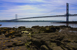 Forth Bridge Royalty Free Stock Photo