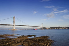Forth Bridge Royalty Free Stock Image