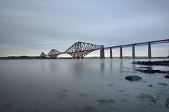 The Forth Bridge, Edinburgh, Scotland Stock Photo
