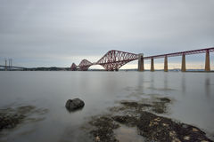 The Forth Bridge, Edinburgh, Scotland Stock Images