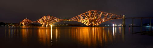 The Forth Bridge, Edinburgh, Scotland Stock Photos