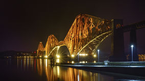 The Forth Bridge, Edinburgh, Scotland - panorama Stock Image