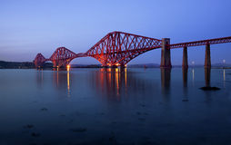 The Forth Bridge, Edinburgh, Scotland Royalty Free Stock Images