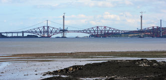 Forth Bridge Royalty Free Stock Images