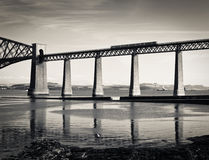 Forth Bridge in Scotland Stock Image