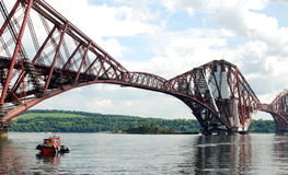 Forth Bridge Scotland Royalty Free Stock Photos