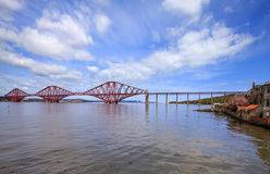 Forth Bridge in Scotland Stock Photos