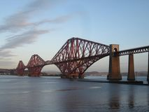 Forth Bridge, Scotland Royalty Free Stock Photography